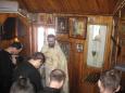 В храме ИК-10 УФСИН России по Ульяновской области накануне Великого поста прошла Божественная Литургия