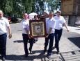 Офицеры КП-1 помогли в проведении крестного хода с Казанской Жадовской иконой Божией Матери