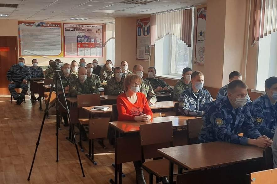Помощник начальника УФСИН России по Ульяновской области по организации работы с верующими провел занятие о духовно-нравственном воспитании сотрудников