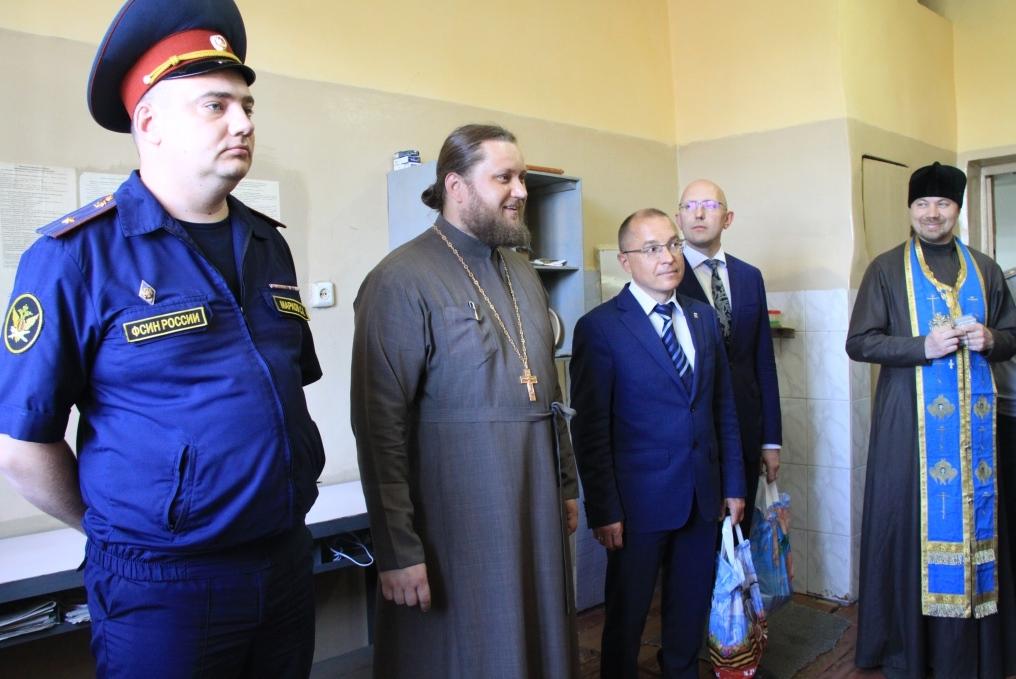В СИЗО-1 УФСИН России по Ульяновской области состоялись Пасхальные встречи