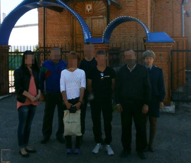 Сотрудники инзенского филиала уголовно-исполнительной инспекции организовали для осужденных посещение храма