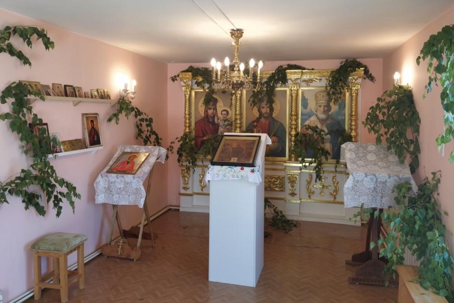 В честь Дня Святой Троицы для осужденных КП-1 прошел молебен