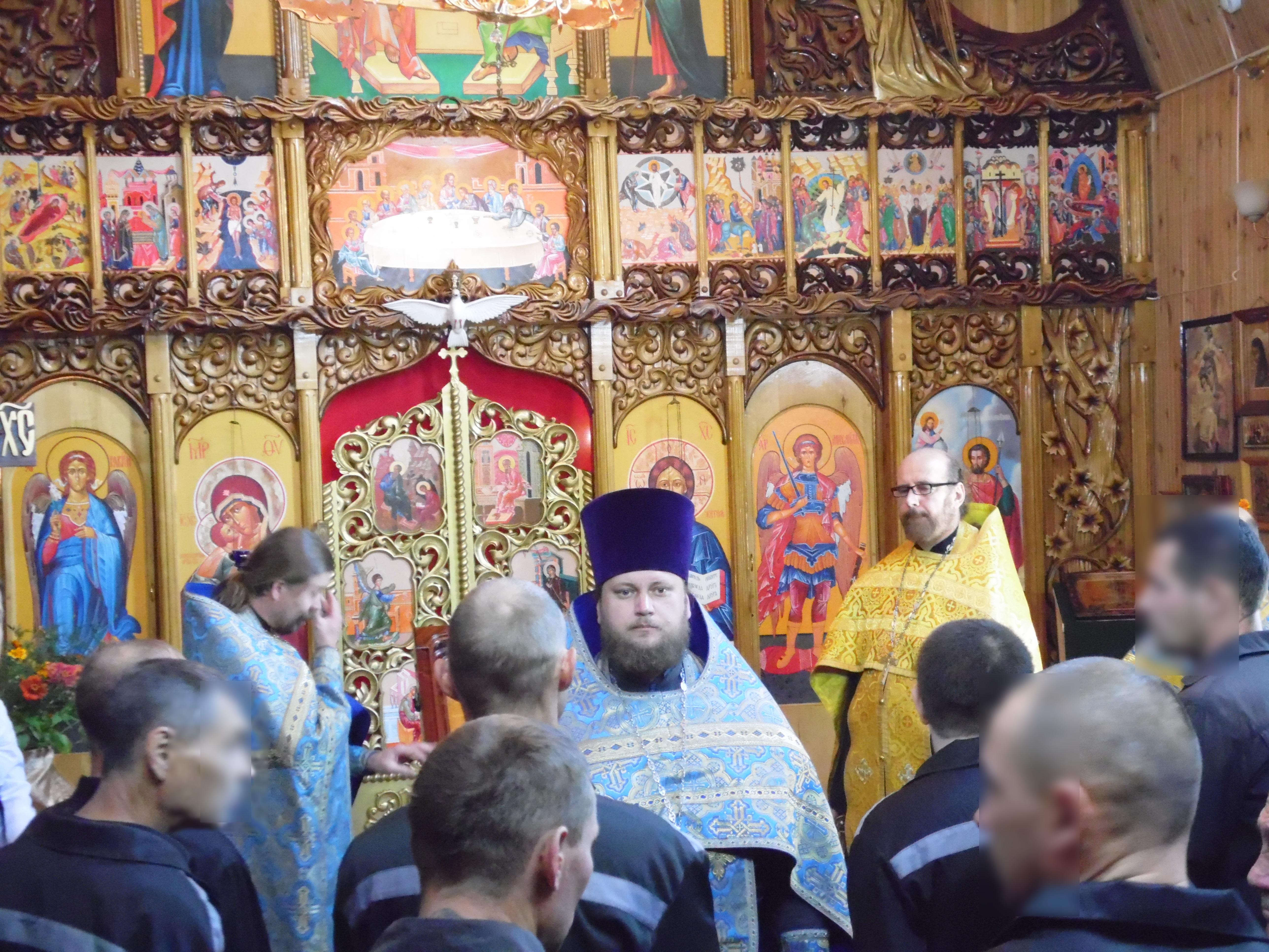 В исправительных учреждениях УФСИН России по Ульяновской области прошел крестный ход с Жадовской иконой Божией Матери