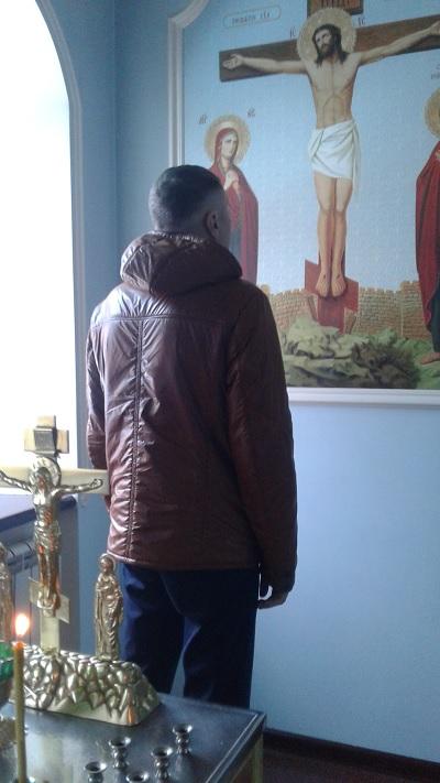 Осужденные, состоящие на учете в уголовно-исполнительной инспекции, посетили храм