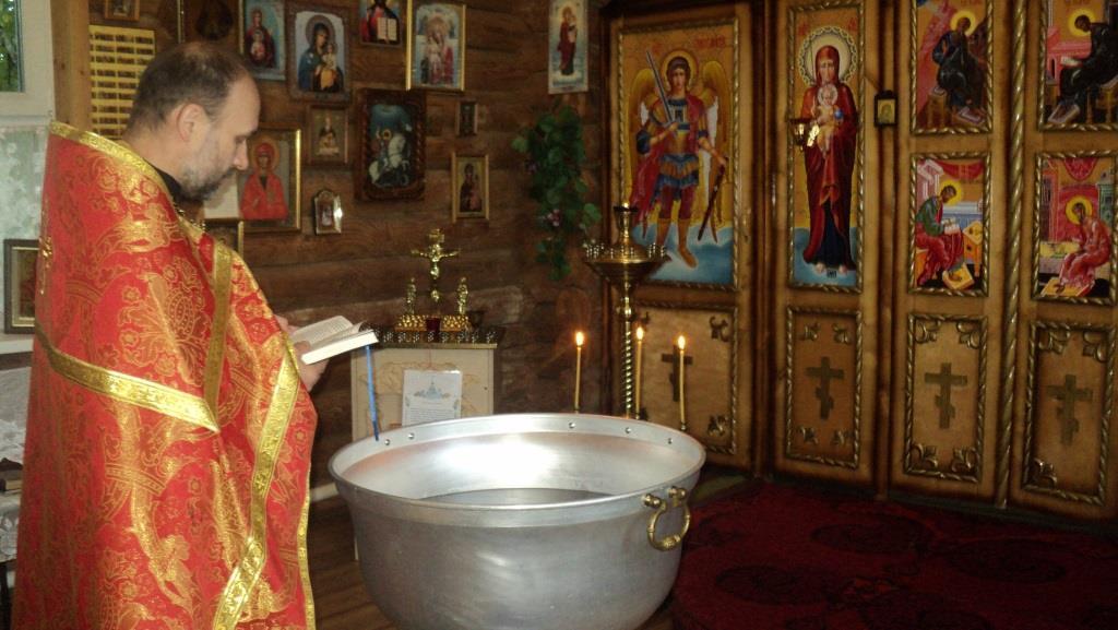 В храме КП-5 УФСИН России по Ульяновской области проведен обряд крещения