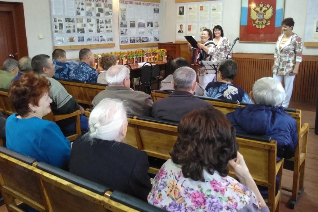 В День пожилого человека в УФСИН России по Ульяновской области чествовали ветеранов службы