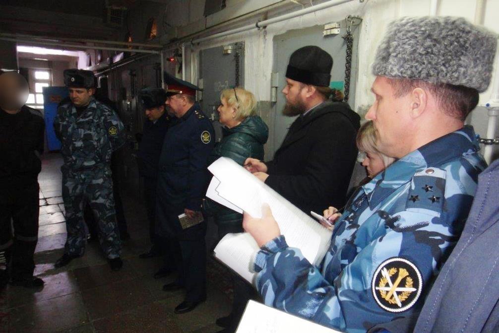 Члены общественной наблюдательной комиссии Ульяновской области посетили тюрьму